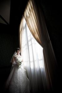 スーパーカメラマン大川さん ファシーノ 洋装前撮り ウェディングドレス ロケーション撮影 貴賓館