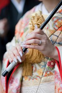 スーパーカメラマン大川さん ファシーノ 和装 前撮り 色打掛 篠山神社