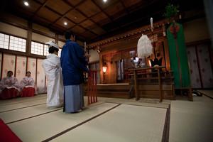 スーパーカメラマン大川さん ファシーノ 神前式 白無垢 結婚式