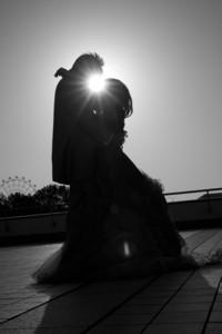 スーパーカメラマン大川さん ファシーノ 洋装前撮り カラードレス ロケーション撮影