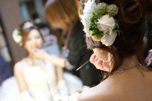 スーパーカメラマン大川さん ファシーノ アルカディア ウェディングドレス 結婚式 メイク