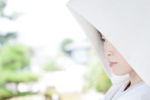 スーパーカメラマン大川さん ファシーノ 和装 前撮り 日本庭園 白無垢 綿帽子