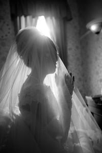 アルカディア ウェディングドレス ベール メイク