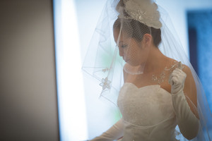 スーパーカメラマン大川さん ファシーノ マリーゴールド 結婚式 ウェディングドレス