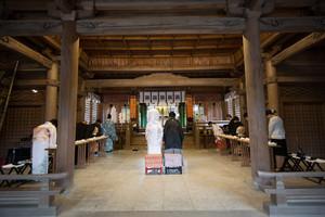 スーパーカメラマン大川さん ファシーノ 阿蘇神社 結婚式