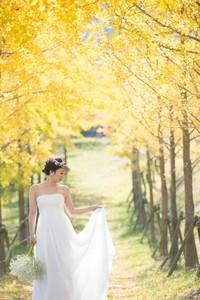 スーパーカメラマン大川さん ファシーノ 洋装 前撮り  ウェディングドレス