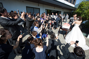 スーパーカメラマン大川さん ファシーノ アルカディア 結婚式 披露宴 ファーストバイト