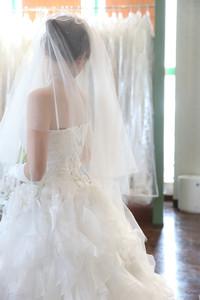スーパーカメラマン大川さん ファシーノ ウェディングドレス