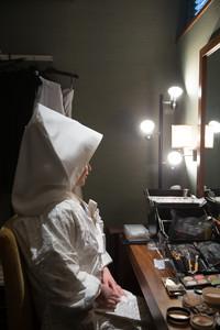 スーパーカメラマン大川さん ファシーノ ザ・ヴィラズ 白無垢 綿帽子 メイク
