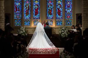 スーパーカメラマン大川さん ファシーノ マリゾン チャペル 結婚式 ウェディングドレス