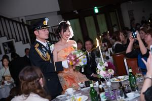 スーパーカメラマン大川さん ファシーノ アルカディア 結婚式 披露宴 カラードレス