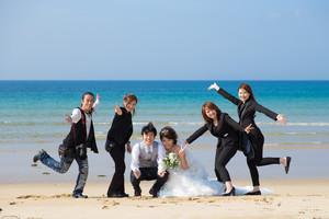 スーパーカメラマン大川さん ファシーノ 結婚式前撮り 洋装前撮り 海ロケ