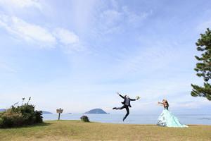 スーパーカメラマン大川さん ファシーノ 洋装 前撮り カラードレス