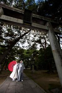 スーパーカメラマン大川さん ファシーノ 和装前撮り 篠山神社