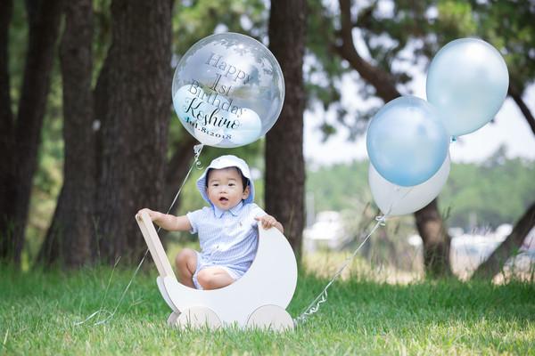 1歳 誕生日 ファシーノ スーパーカメラマン大川さん