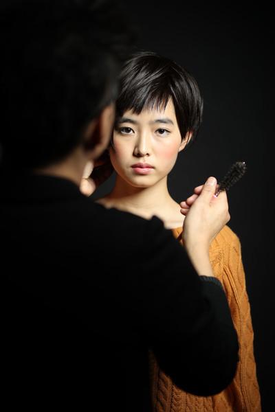 ヘアサロン 宣材撮影 作品撮り ファシーノ スーパーカメラマン大川さん