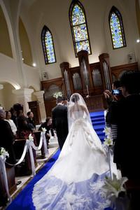 スーパーカメラマン大川さん ファシーノ アニヴェルセル 結婚式 ウェディングドレス