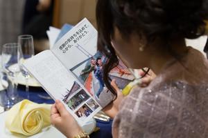 スーパーカメラマン大川さん ウェディングブックレット