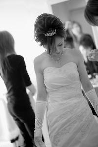 スーパーカメラマン大川さん ウェディングドレス メイク 結婚式